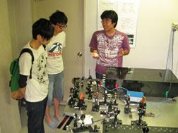 情報通信工学科 研究室見学会2014