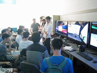 情報通信工学科 研究室見学会2016