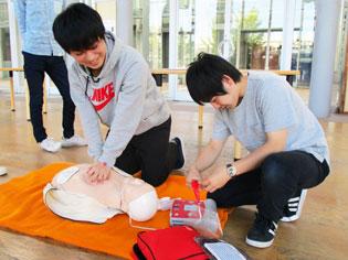 """AED講習会@東北工業大学"""""""