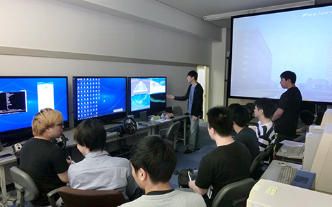 情報通信工学科 研究室見学会2019 06 26